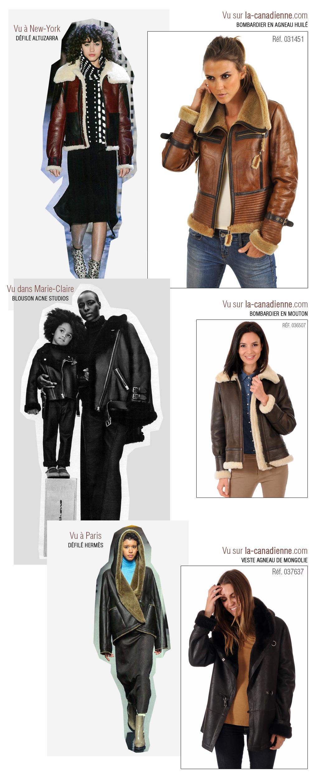 Peaux lainées Femme hiver 2016